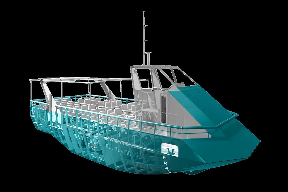 River Cruise Vessel 54PAX - 12.6m