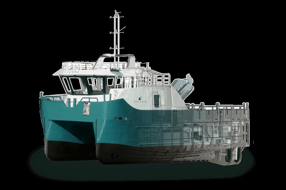 Fish Farm Work Boat - 13.5m - H-AV